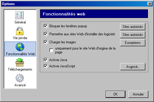 Microsoft database engine msde 2000 for Bloquer les fenetre pop up firefox